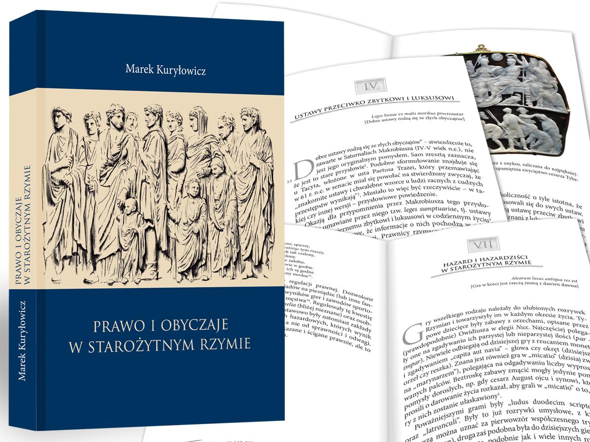 prawo i obyczaje w starożytnym Rzymie